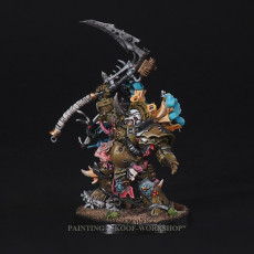 Warhammer 40k Painted Typhus - Herald of the Plague God